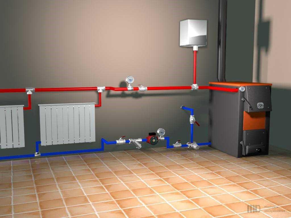 Как в квартире сделать индивидуальное отопление