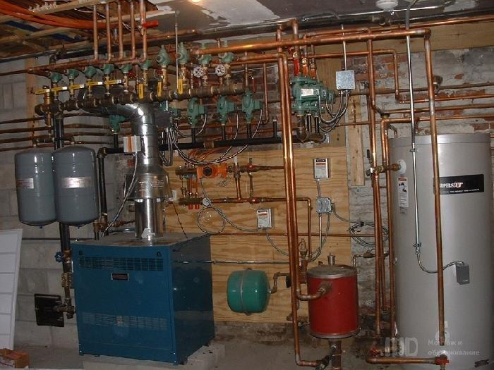 Расширительный бак в системе отопления частного дома